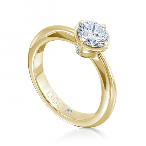 """Ring """"Royal"""" in Gelbgold"""