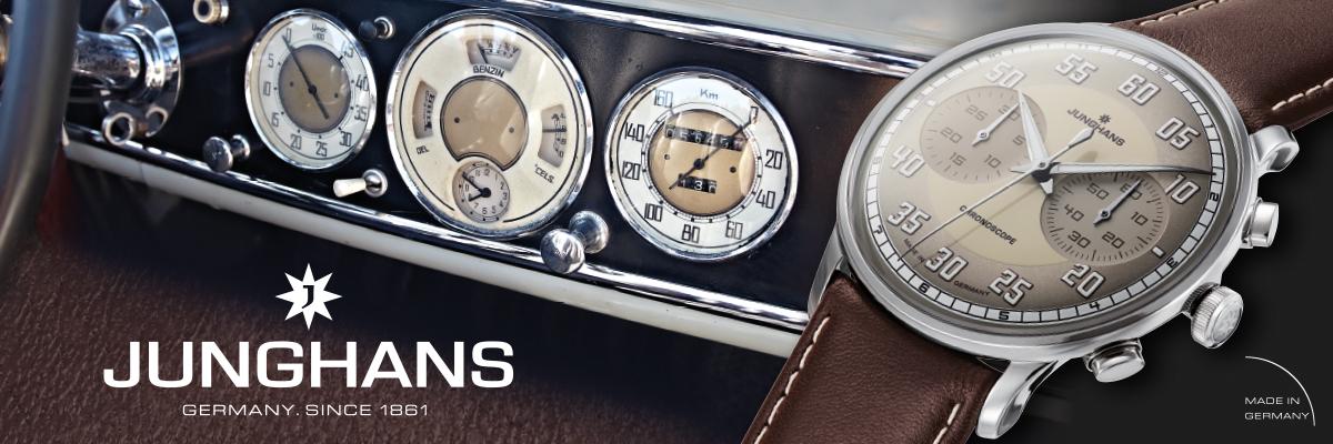 Die Deutsche Uhr - Chronoscope -Meister Driver von Junghans