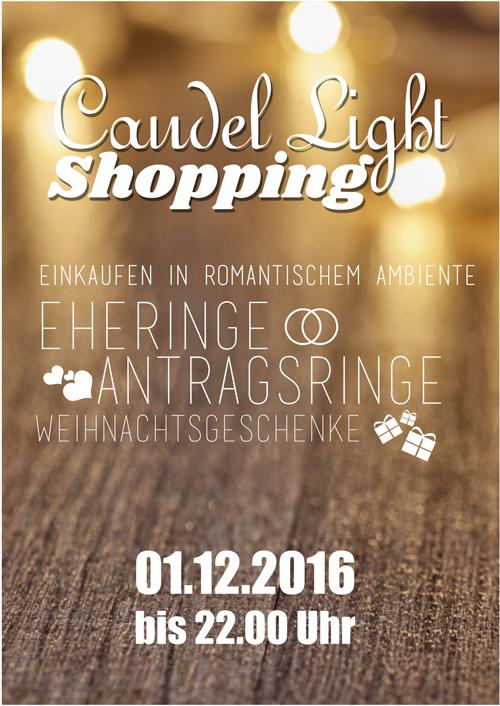 Am 1.12.2016 - Candle Light Shopping in Kamen - Wir sind dabei!